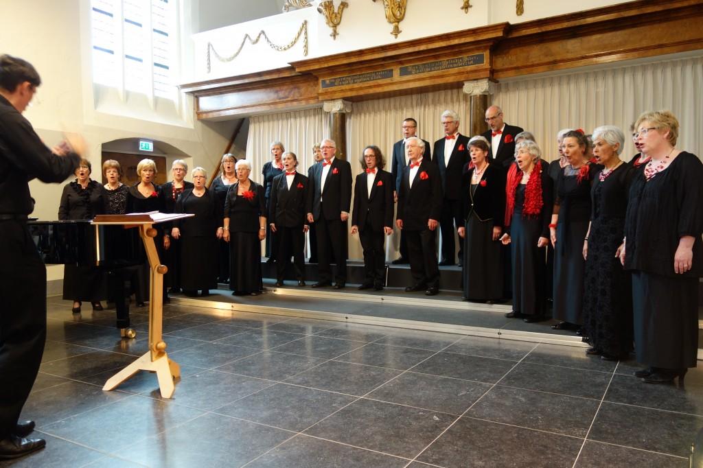 Opera Gelderland-Oost tijdens een concert in de Gasthuiskerk in Doesburg